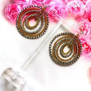 ♥️BOGO Round Bead dangle earrings